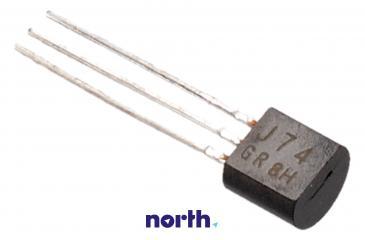 2SJ74 Tranzystor TO-92 (p-channel) 25V 0.01A 500MHz