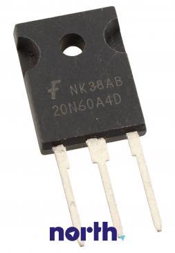 20N60A4D Tranzystor TO-247 (n-channel) 600V 40A 83MHz