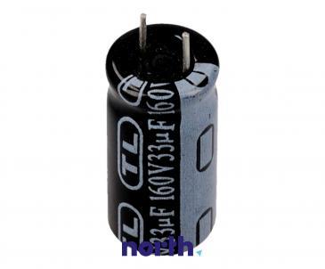 33uF | 160V Kondensator elektrolityczny 85°C 30000388
