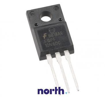 FQPF10N60CF Tranzystor MOS-FET TO-220F (n-channel) 600V 9A 14MHz