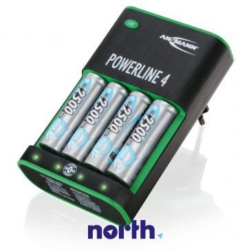 Ładowarka akumulatorów POWERLINE4 R3/R6