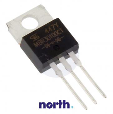 MBR30100CT Dioda Schottkiego MBR30100CT 100V | 30A (TO-220-3)