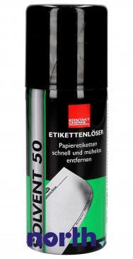 Preparat 50-SOLVENT usuwający etykiety samoprzylepne Kontakt Chemie 50SOLVENT 100ml