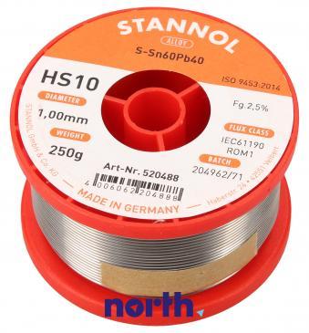 Cyna 1mm 250g Stannol - HS10