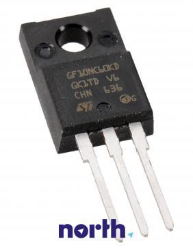 STGF10NC60KD Tranzystor TO-220FP (n-channel) 600V 9A 166MHz