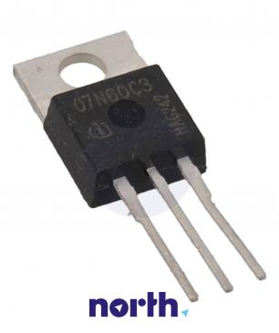 SPP07N60C3 Tranzystor MOS-FET TO-220 (n-channel) 650V 7.3A 285MHz