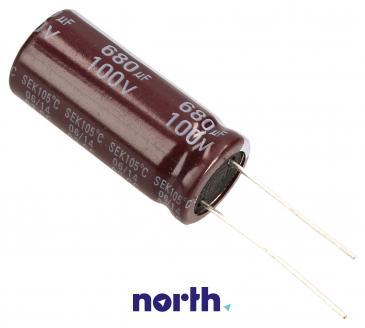 680uF | 100V Kondensator elektrolityczny 105°C 36mm/16mm