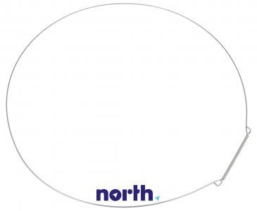 Opaska | Obejma fartucha (przednia) do pralki Whirlpool 481249298011