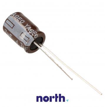 4.7uF | 250V Kondensator elektrolityczny 105°C 12mm/10mm