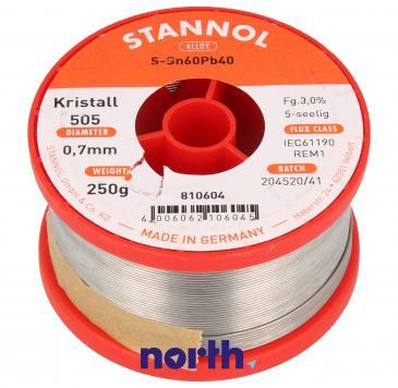 Cyna 0.7mm 250g Stannol - 60/40