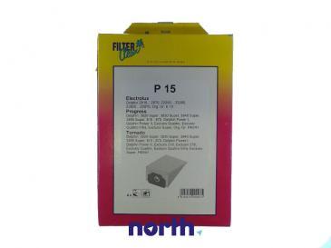 Worek do odkurzacza P15 AEG 4szt. (+filtr) 000124K