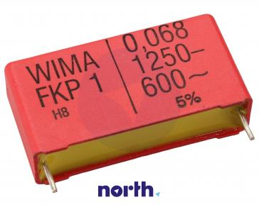 68nF | 1250V Kondensator impulsowy FKP1 WIMA 22mm