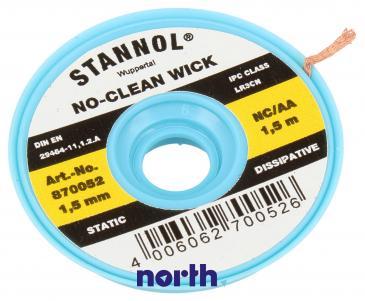 1.5mm Taśma do rozlutowywania Stannol (1.5m)