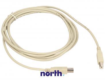 Kabel USB B 3m (wtyk/ wtyk) standard