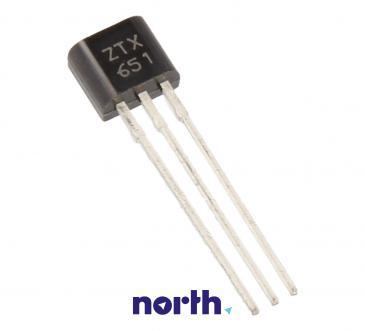 ZTX651 Tranzystor TO-92 (npn) 60V 2A 175MHz