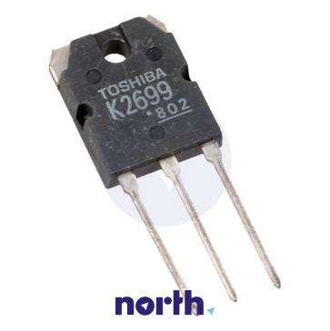 2SK2699 Tranzystor TO-3P (n-channel) 600V 12A 22MHz