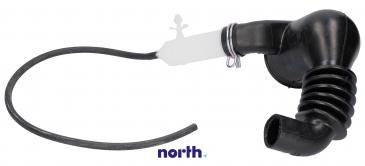 Rura | Wąż połączeniowy bęben - pompa oko ball - system odzyskiwania detergentu do pralki Siemens 00480443