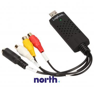 Konwerter | Przetwornik audio/wideo na USB Logilink VG0001A