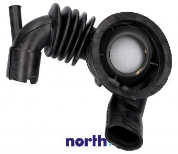 Rura | Wąż połączeniowy bęben - pompa gumowy do pralki Siemens 00480436