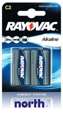 R14 | LR14 | MN1400 Bateria C alkaliczna 1.5V 8000mAh Rayovac (2szt.)