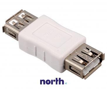 Łącznik USB A (gniazdo/gniazdo)
