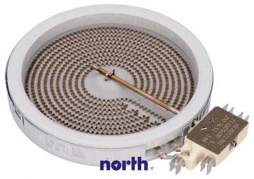 Pole grzejne średnie 1200W 140mm do płyty grzewczej