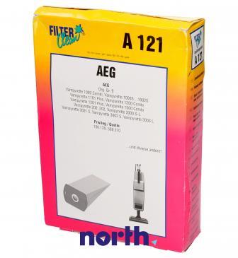 Worek do odkurzacza A121 AEG 10szt. (+filtr) 000035KA