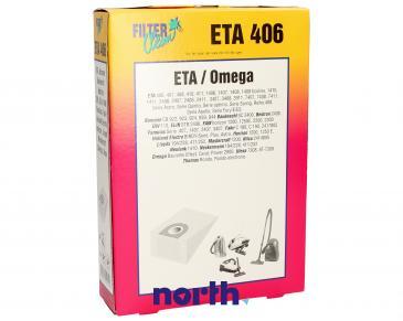 Worek do odkurzacza ETA406 ETA 5szt. (+2 filtry) 000062K