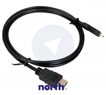 Kabel HDMI - HDMI micro 1m (wtyk/ micro wtyk) high quality
