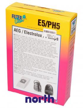 Worek do odkurzacza E5/PH5 Philips 5szt. 000282K