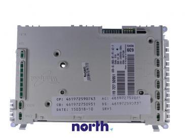 Moduł sterujący nieskonfigurowany do zmywarki Whirlpool 480140102482