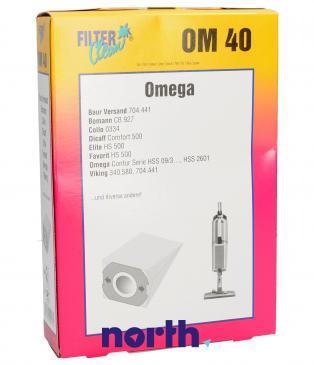 Worek do odkurzacza OM40 Baur 10szt. (+filtr) 000016K