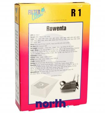 Worek do odkurzacza R1 Omega 5szt. (+2 filtry) 000051K