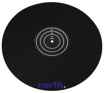 Nakładka filcowa talerza mata z tarczą stroboskopową do gramofonu MATEIGHT