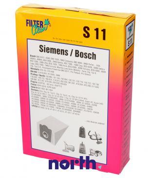 Worek do odkurzacza S11 Bosch 5szt. (+filtr) 000120NK