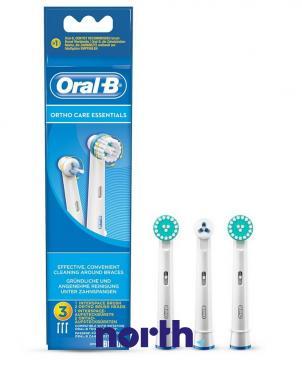 Szczoteczka | Końcówka EB-KIT OTRHO CARE ESSENTIALS do szczoteczki do zębów 3szt. Oral-B 64711704