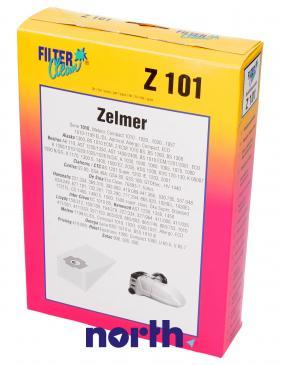 Worek do odkurzacza Z1010 Zelmer 5szt. (+2 filtry) 000038K