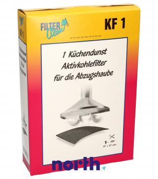 Filtr węglowy aktywny KF1 do okapu 300004KDK