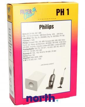 Worek do odkurzacza PH1 / ETA426 Philips 10szt. (+2 filtry) 000024KA