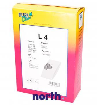 Worek do odkurzacza L4 LIV 4szt. 000151K