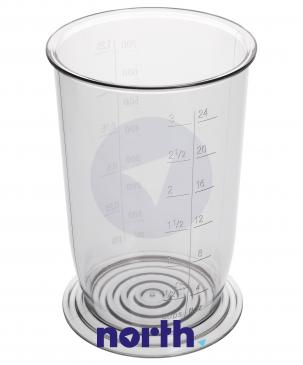 Dzbanek | Pojemnik uniwersalny MFZ3500 z miarką 700ml blendera ręcznego Bosch 00481139