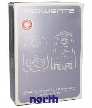 Worek do odkurzacza ZR480 Rowenta 6szt. (+2 filtry) ZR480