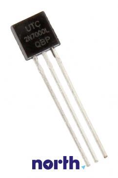 2N7000 Tranzystor TO-92 (n-channel) 60V 200mA 50000000Hz