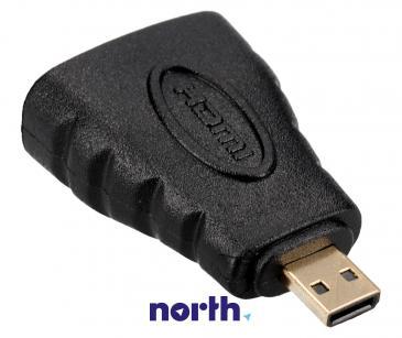 Adapter HDMI - HDMI micro (gniazdo/ wtyk)