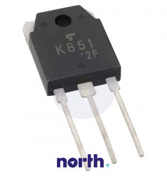 2SK851 Tranzystor TO-3P (n-channel) 200V 30A 66MHz