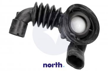 Rura | Wąż połączeniowy bęben - pompa do pralki Siemens 00483993