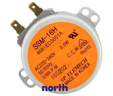Silnik SSM-16H dystrybutora alternatywnego wody do zmywarki 4681ED3001A