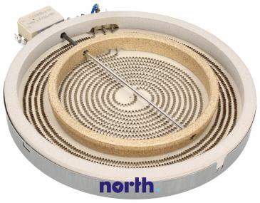 Pole grzejne podwójne (2200W/1000W) do płyty grzewczej Indesit C00089645