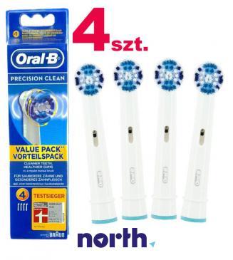 Szczoteczka | Końcówka EB20-4 Precision Clean do szczoteczki do zębów 4szt. Oral-B 64703704