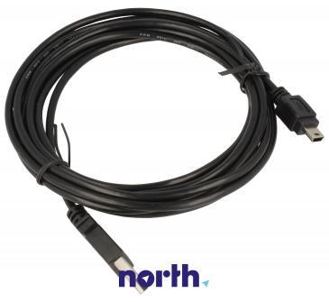 Kabel 3m USB A - USB B mini (wtyk/ wtyk) standard